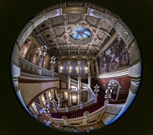 Bacskó Levente: A Vigadó belső terei